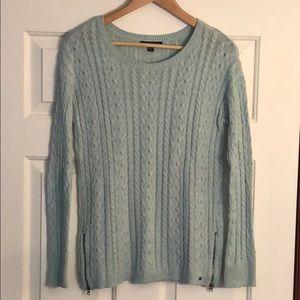 American Eagle Side-Zip Sweater